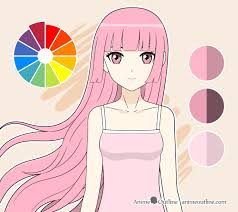 Anime Eye Color Meaning Chart Guide To Picking Colors When Drawing Anime Manga