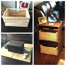 wooden crate coffee table diy crate side table best wooden crate coffee table ideas on crate