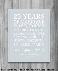 25th Anniversary Quotes Awesome 48 Years Personalized Anniversary Gift For Parents Or Spouse Wedding
