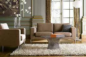 Shaggy Rugs For Living Room Rugs Contemporary Living Room With Circle Dark Leather Shag Rug