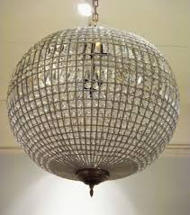 crystal globe chandelier decorative lighting and furniture pertaining to stylish property crystal globe chandelier decor