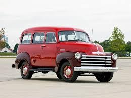 1951–1952 Chevrolet 3100 Suburban Design Interior Exterior ...