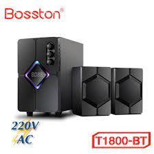 Loa Vi Tính Loa PC Laptop Máy Tính Để Bàn Bosston T1800-BT Led RGB Công  Suất 40W Tích Hợp Bluetooth, Usb, Thẻ Nhớ - Loa