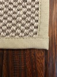 bound rug mitered corner bound rug top stitched boxed corner