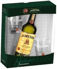 jameson irish gift set 750 ml