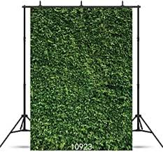 SJOLOON 5X7ft Green Leaves Backdrop Grass ... - Amazon.com