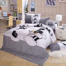 details about mickey mouse luxury duvet cover pillow cases cartoon quilt cover bedding set
