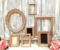 large gold picture frames old frame isolated on black background extra photo shabby chic large gold frames