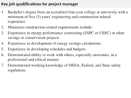 Project Manager Job Description Project Manager Job Description