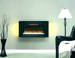 powerheat infrared quartz fireplace wall hanging electric in ale black mounted