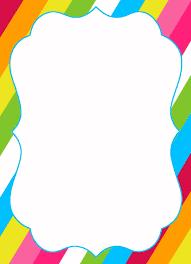 candyland border clip art. Brilliant Art Candyland Blank Templates  Invitation Template Best  Collection In Border Clip Art C