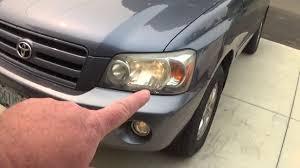 Toyota Highlander Parking Lights 2007 Toyota Highlander Parking Light