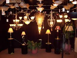 a large selection of lighting options available