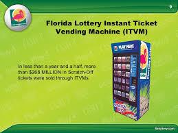 Florida Lotto Vending Machines Gorgeous Florida Lottery Become A Retailer Presentation