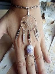 Dream Catcher Bracelet Ring