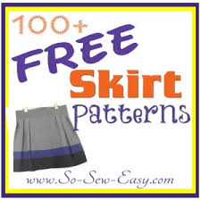 Free Skirt Patterns Enchanting Free Skirt Sewing Patterns Over 48 So Sew Easy