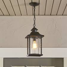 comely unique outdoor hanging lantern lights at barrow reviews birch lane