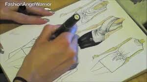 Youtube Fashion Design Sketches Fashion Sketching 101 How To Become A Fashion Designer