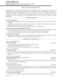General Sample Resume General Manager Resume Samples Resume Samples ...