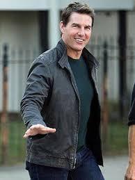 jack reacher tom cruise real leather jacket