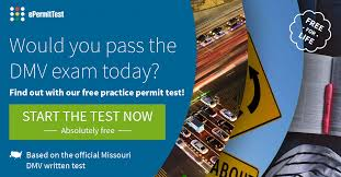 Missouri Drivers License Renewal Road Sign Test Mo 2019