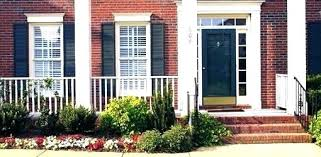front door colors with red brick front door colors for red brick house color with entry