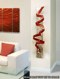 white marble with bronze wall art sculpture in the reception area of with regard to brilliant residence red metal art wall decor prepare on red metal art wall decor with red metal art wall decor custom red metal art wall decor red modern