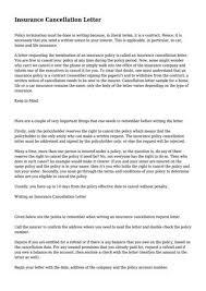 Insurance Cancellation Letter By Jasmine7frazier71 Issuu