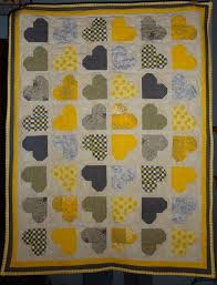 Yellow and grey baby quilt completely done   Quilting Sewing Creating & babyq Adamdwight.com