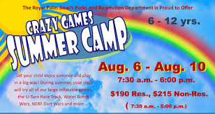 Markus mentioned something about the amount of memories you. Crazy Games Summer Camp Royal Palm Crazy Games