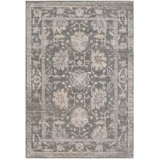 surya tranquil cream 8 ft x 10 ft area rug