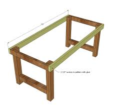 Easy Table Plans Ana White Build A Happier Homemaker Farmhouse Table Free And