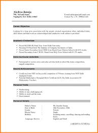 Fresher Resume Format Teller Sample B Tech It Graduate Templates