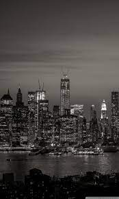 New York Iphone Wallpaper Black And ...