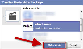 how to create a video create a video of your facebook page timeline hallam internet