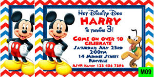 mickey and minnie invitation templates 31 mickey mouse invitation templates free sample example format