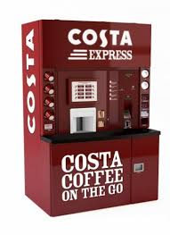 Costa Vending Machines Unique Costa Coffee Implementing Sensory Marketing Into 'Costa Express