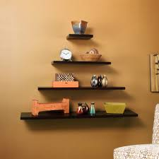 Dark Brown Floating Wall Shelves Decoration Dark Brown Floating Shelves Floating Shelf Depth Dark 1