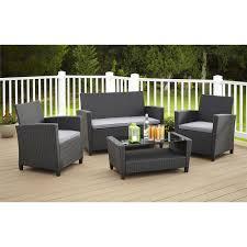 Patio Furniture 4pc Conversation Setc2a0 Jill Pc Set Gardenline