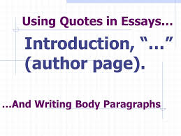 using quotes in essays ppt video online using quotes in essays
