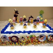 Dragon Ball Z Cake Decorations Exclusive Unique Dragon Ball Z 60 Piece Birthday Cake Topper 1