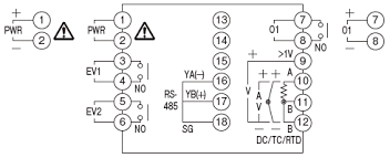 kt4r temperature controller wiring connection panasonic external connection diagram