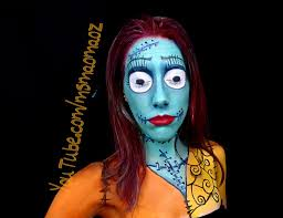 picture of sally from nightmare before makeup transformation