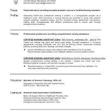 Generous Cna Resumes Pictures Inspiration Entry Level Resume