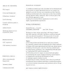 Dental Resume Sample Resume Bank