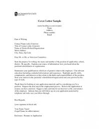 Letter Title Format Images Letter Format Formal Example Intended