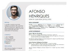 It Resume How To Write An Amazing One Page Cv Sprint Cv