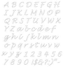 Printable Stencils For Kids Alphabet Templates For Kids 4885