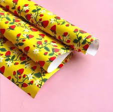strawberry patch wrap by krista perry for red cap cards