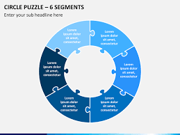 Slide Circle Circle Puzzle Powerpoint Template Sketchbubble